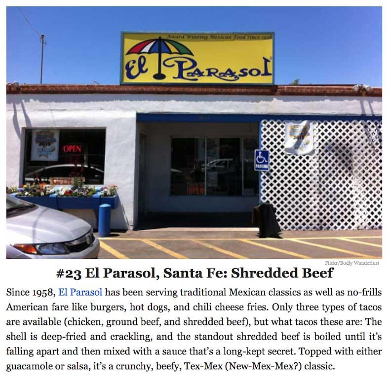 Reviews El Parasol